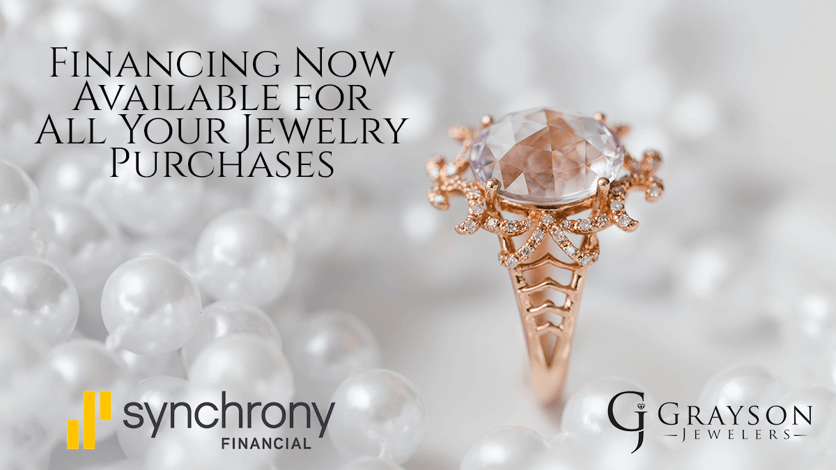 Financing Available with Synchrony Financial   Grayson Jewelers