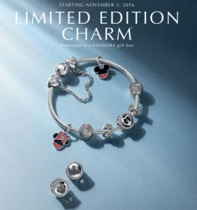 Pandora Disney Limited Edition Charm 2016