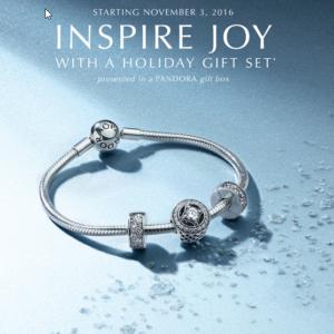 Pandora Elegance Gift Set 2016