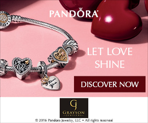 Grayson Jewelers - Pandora Let Love Shine
