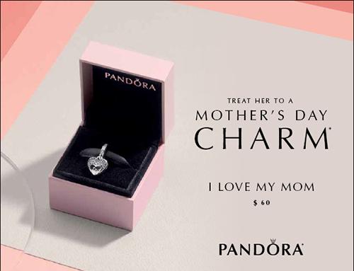 charm pandora i love my mum