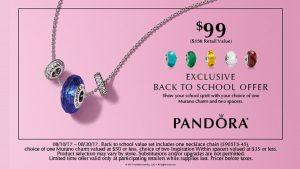 Pandora Back to School - Grayson Jewelers